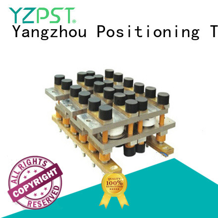 Positioning test thyristor assembly production for amplifier