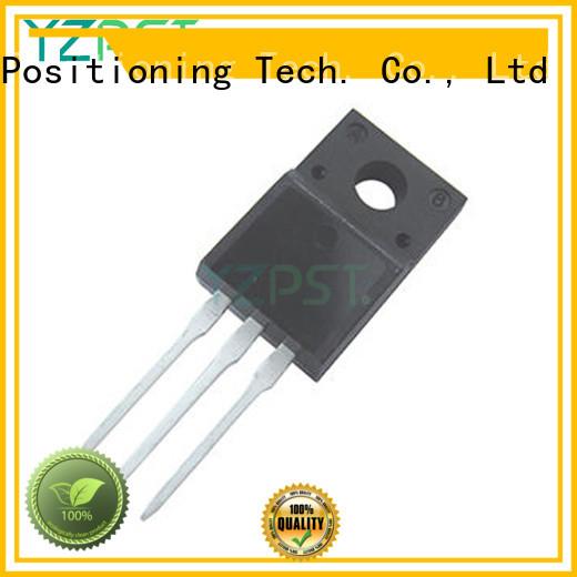 Positioning igbt transistor apply for motor