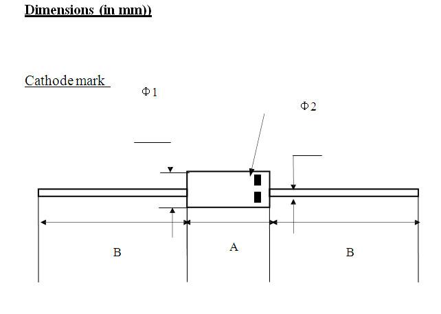 good rectifier diode parameter for TV