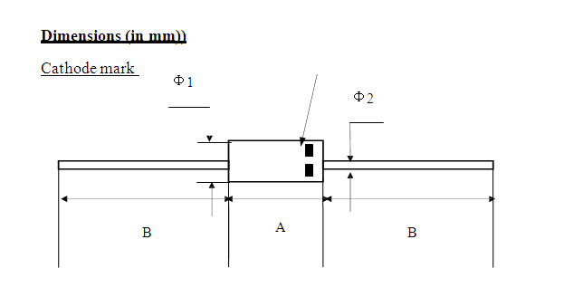 Positioning good electric diode specifications for gate-1