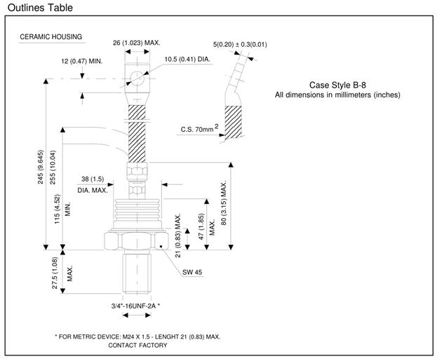 Positioning thyristor stud hot sale for parallel