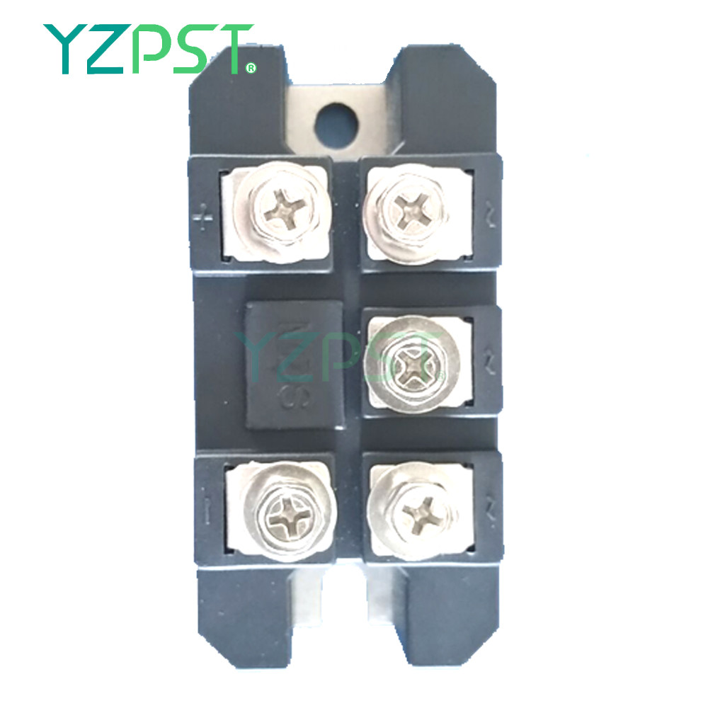 Three phase rectifier bridge power module for DC motors MDS35A1200V