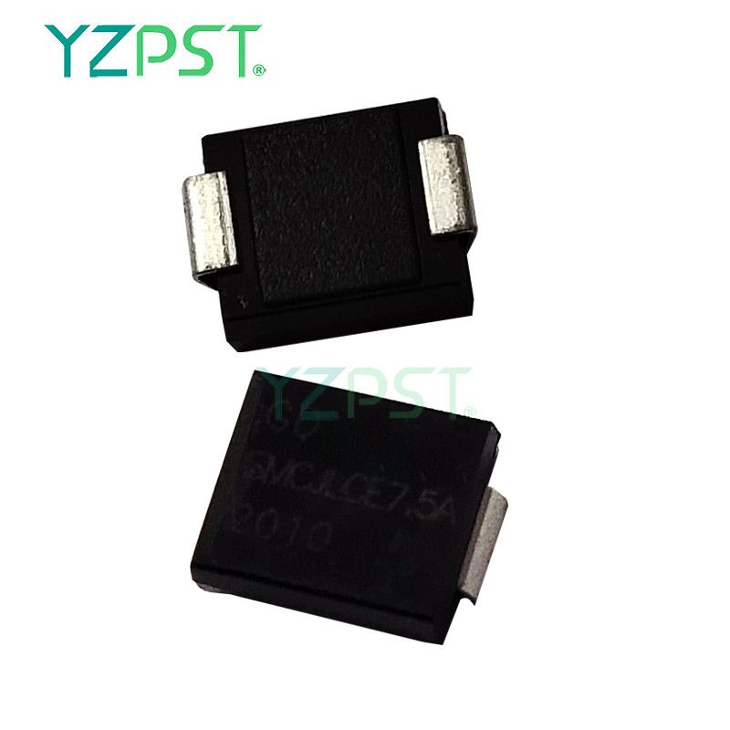 SMC Series 1500W low tapacitance transient transistor