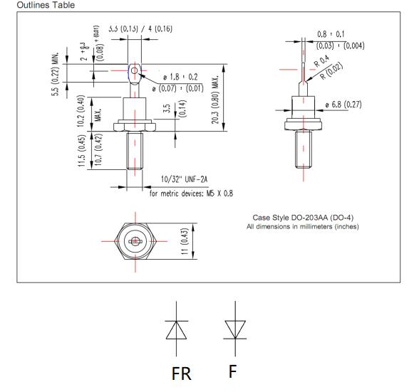YZPST-17HF(R)120 outline