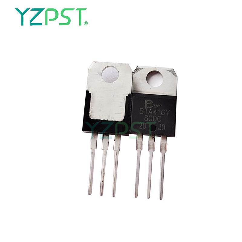 Wholesale thyristor component BTA416Y triac series