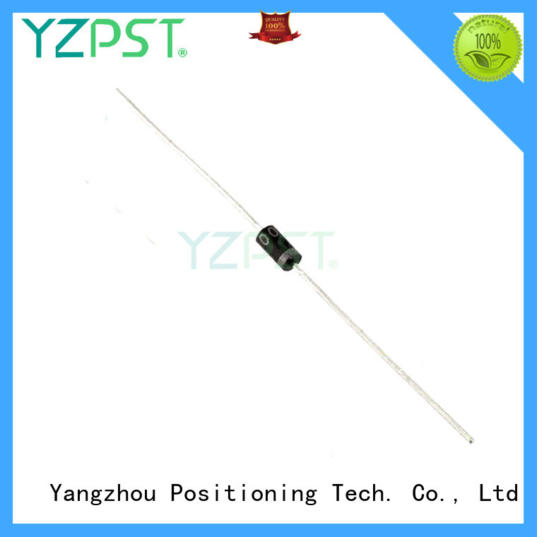 Positioning fast recovery diode details for gate
