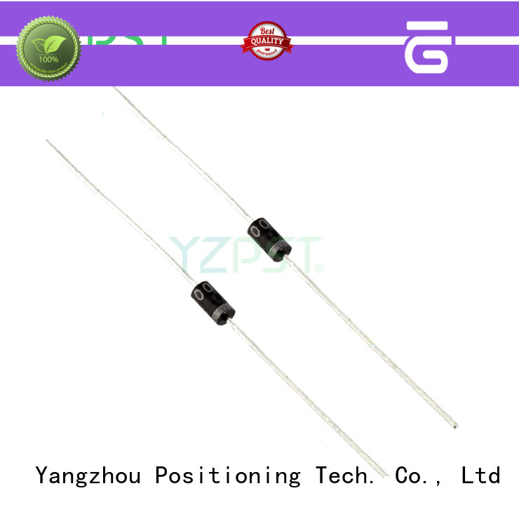 Positioning power diodes types specifications for TV