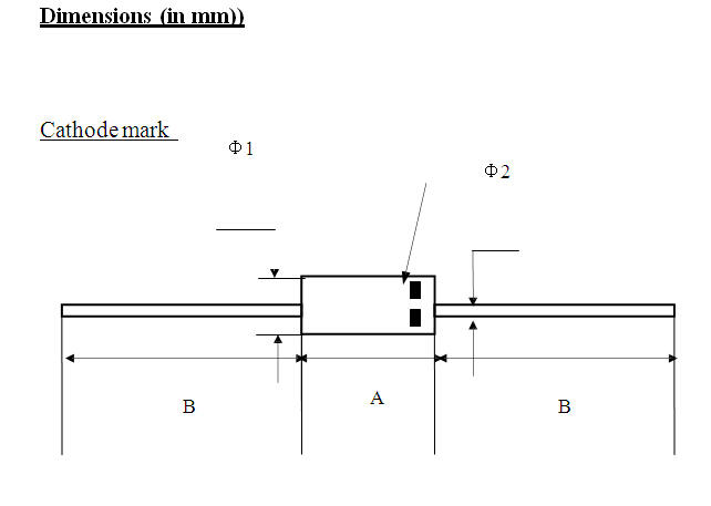 Positioning silicon power diode parameter for gate-1
