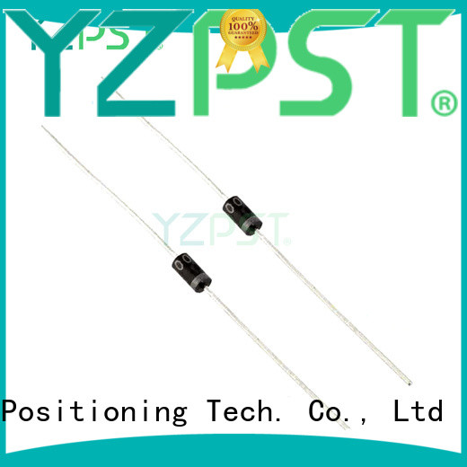 Positioning electrical diode types for TV