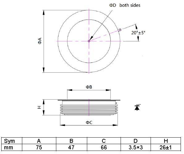 Positioning inverter thyristor online for audio amplifier-1