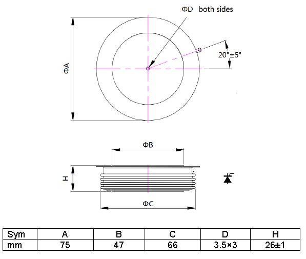 thyristor catalog price for led-1