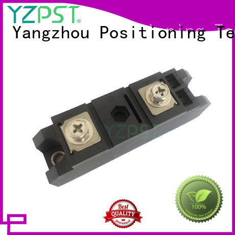 Positioning thyristor power module function for power supply