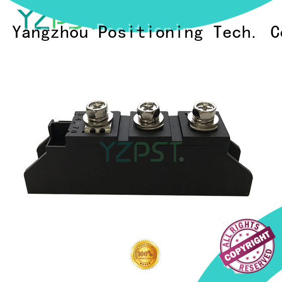 Positioning thyristor power module classification for motor control