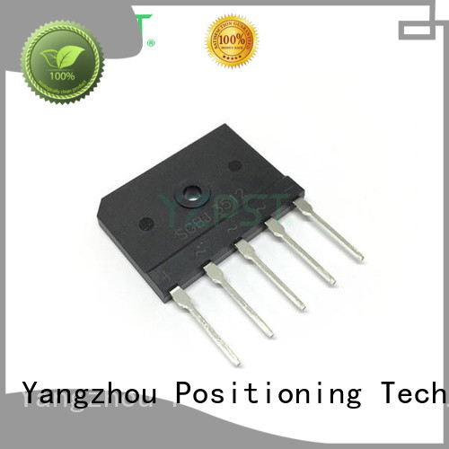 Positioning high voltage schottky diode modules function for power supply
