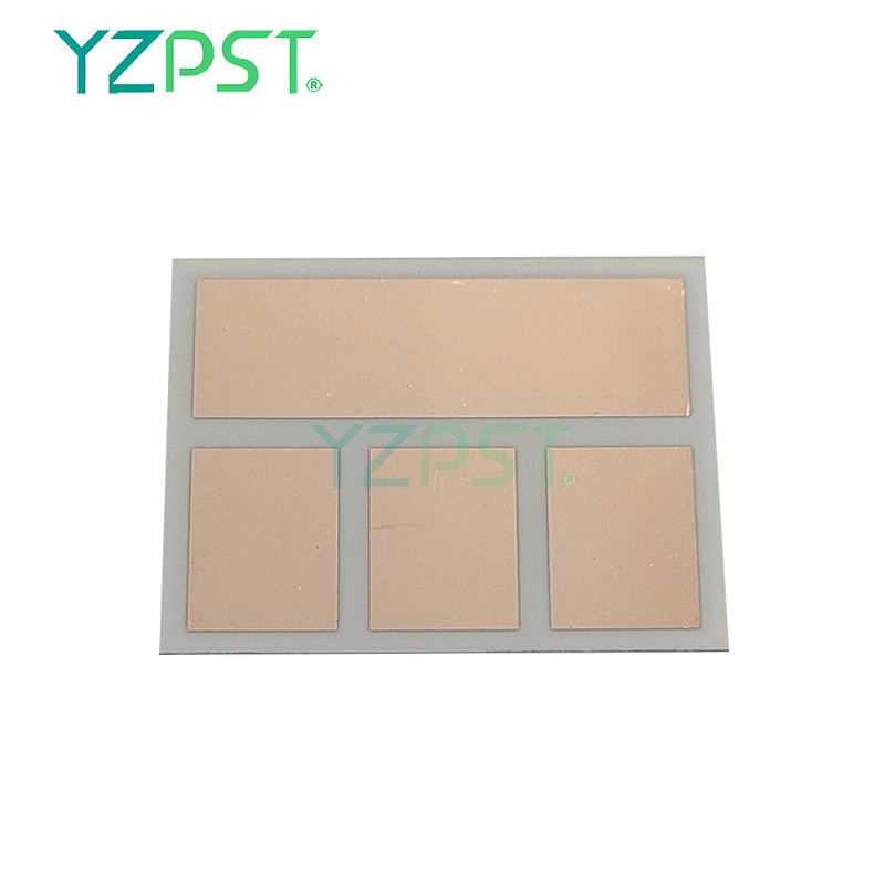 Copper-coated ceramic substrate YZPST-DPC-16x22